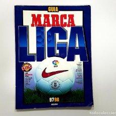 Coleccionismo deportivo: GUIA MARCA DE LA LIGA 97 98. ANUARIO. 1997 1998.. Lote 195965425