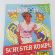 Colecionismo desportivo: REVISTA DON BALON NUMERO 670 AGOSTO 1988 POSTER ATHLETIC CLUB BILBAO REAL SOCIEDAD VER SUMARIO.. Lote 195974687