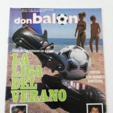 Coleccionismo deportivo: REVISTA DON BALON NUMERO 669 AGOSTO 1988 POSTER FC BARCELONA REAL MADRID VER SUMARIO.. Lote 195980078