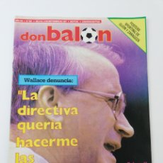 Colecionismo desportivo: REVIST DON BALON NUMERO 621 SEPTIEMBRE 1987 POSTER SPORTING DE GIJON REAL ZARAGOZA VER SUMARIO.. Lote 195980970