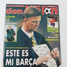 Coleccionismo deportivo: REVISTA DON BALON NÚMERO 1162 ENERO 1998 POSTER SALAMANCA VER SUMARIO.. Lote 195983840