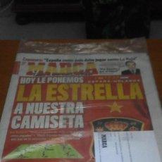 Colecionismo desportivo: REVISTA MARCA 11 DE JULIO 2010. ESPAÑA HOLANDA. NUEVA PRECINTADA. EST1B3. Lote 196020438