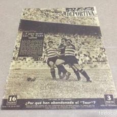 Collectionnisme sportif: 5-7-1949 MUNICH TARRAGONA STTUTGART Y NUREMBERG / BARCELONA CAMPEON COPA LATINA BARCELONA SPORTING. Lote 196068635