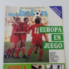 Colecionismo desportivo: REVISTA DON BALON NUMERO 674 SEPTIEMBRE 1988 POSTER SPORTING DE GIJON VER SUMARIO.. Lote 196209376