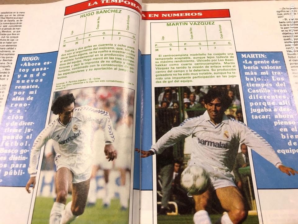 Coleccionismo deportivo: DON BALÓN N° 658 (1988). POSTER ESPAÑOL SUBCAMPEÓN COPA UEFA, FINAL UEFA, TXIKI BEGUIRISTAIN,... - Foto 6 - 196283021