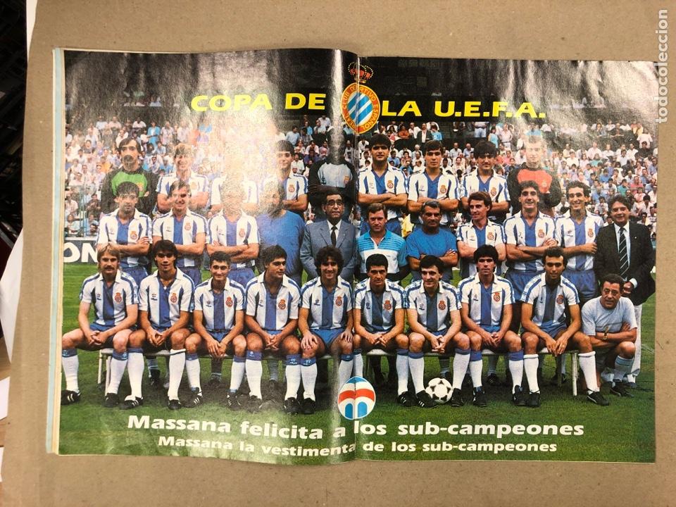 Coleccionismo deportivo: DON BALÓN N° 658 (1988). POSTER ESPAÑOL SUBCAMPEÓN COPA UEFA, FINAL UEFA, TXIKI BEGUIRISTAIN,... - Foto 7 - 196283021
