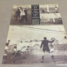 Coleccionismo deportivo: 6-11-1945 R MADRID OVIEDO GIJON ESPAÑOL / MURCIA BARCELONA CASTELLON AT AVIACION HERCULES ALCOYANO. Lote 196332620