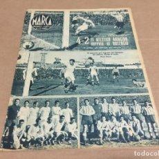 Coleccionismo deportivo: 15-2-1944 AT AVIACION VALENCIA SEVILLA CORUÑA CASTELLON AT BILBAO MADRID ESPAÑOL BETIS ARENAS OVIEDO. Lote 196333758