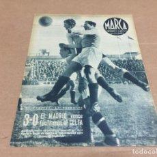 Coleccionismo deportivo: 22-2-1944 R MADRID CELTA / OVIEDO SABADELL / SEVILLA R SOCIEDAD / VALENCIA CASTELLON / AT AVIACION. Lote 196335136