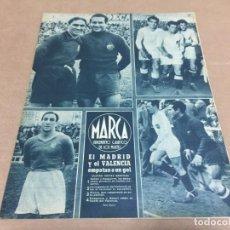 Coleccionismo deportivo: 4-4-1944 R MADRID VALENCIA SABADELL HERCULES ZARAGOZA ARENAS OVIEDO CORUÑA / NARANCO: LANGARICA. Lote 196347767