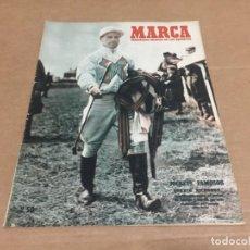 Coleccionismo deportivo: 21-11-1950 GORDIN RICHARDS / SANTANDER AT MADRID VALENCIA MADRID MURCIA LERIDA / HUESCA Y JUVENCIA . Lote 196349560