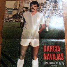 Colecionismo desportivo: AS COLOR POSTER GARCIA NAVAJAS AÑO 80 RESERVADO. Lote 196357982