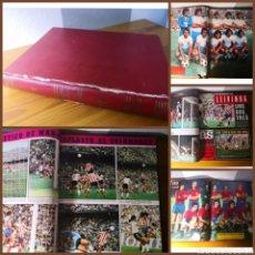 Coleccionismo deportivo: TOMO CON 19 REVISTAS AS COLOR (N° 225-243) AÑO 1975-1976. Lote 196315406