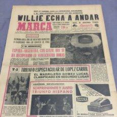 Coleccionismo deportivo: MUNDIAL INGLATERRA 1966 TODOS LOS MARCAS ENCUADERNADOS. Lote 196401941