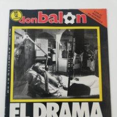 Colecionismo desportivo: REVISTA DON BALON NUMERO 588 ENERO 1987 POSTER CHECOSLOVAQUIA VER INDICE. Lote 196577548