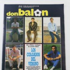 Colecionismo desportivo: REVISTA DON BALON NUMERO 668 AGOSTO 1988 POSTER SEVILLA FC REAL VALLADOLID VER INDICE.. Lote 196589552