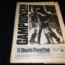 Coleccionismo deportivo: DIARIO MUNDO DEPORTIVO CAMPEON RECOPA 1979 BARCELONA. Lote 196736096