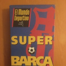 Coleccionismo deportivo: CINTA VHS SUPER BARÇA AÑO 1993. Lote 196797445