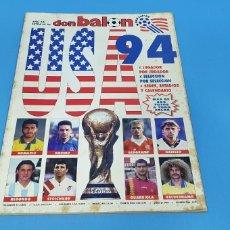 Coleccionismo deportivo: REVISTA DON BALON, USA 94 JUGADOR X JUGADOR. Lote 289324703