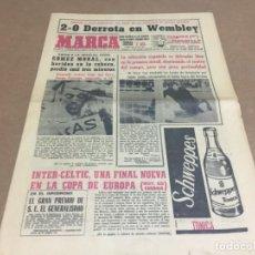 Coleccionismo deportivo: 25-5-1967 EUROPEAN FINAL: INTER - CELTIC / ENGLAND - ESPAÑA / FAIRS: LEEDS KILMARNOCK / PEÑAROL FCB. Lote 196949870