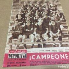 Coleccionismo deportivo: 20-4-1959 BARCELONA CAMPEON DE LIGA 1958-59: PLANTILLA IMAGENES Y MAS. Lote 197065216