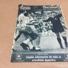 Coleccionismo deportivo: 2-10-1961 BILBAO TENERIFE / ZARAGOZA RSOCIEDAD / BETIS SANTANDER / OVIEDO SEVILLA / MADRID BARCELONA. Lote 197065508