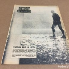 Coleccionismo deportivo: 9-12-1963 BODAS ORO CN ATLETICO / BARCELONA ELCHE / MURCIA ESPAÑOL / PAPP FOLLEDO CAMPEONATO MEDIOS. Lote 197161916