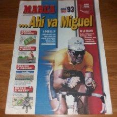 Coleccionismo deportivo: REVISTA CICLISMO. MARCA SUPLEMENTO ESPECIAL GUÍA TOUR 93 1993 (INDURAIN). Lote 197255352