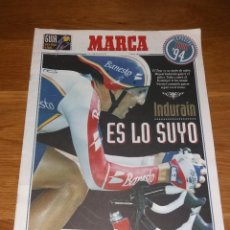 Coleccionismo deportivo: REVISTA CICLISMO. MARCA SUPLEMENTO ESPECIAL GUÍA TOUR 94 1994 (INDURAIN). Lote 197255420