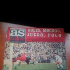 Coleccionismo deportivo: AS COLOR Nº 134 - DIC..1973 - GRACIAS A CRUYFF AHORA LIDER. Lote 197302050