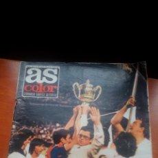 Coleccionismo deportivo: AS COLOR Nº 163 - JUL.1974 - COPA Y RECOPA PARA EL MADRID. Lote 197302130