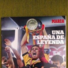 Coleccionismo deportivo: REVISTA ESPECIAL MARCA ESPAÑA CAMPEONA DEL MUNDO 2010. UNA ESPAÑA DE LEYENDA. NUEVA. Lote 197776882