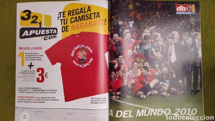 Coleccionismo deportivo: REVISTA ESPECIAL DON BALÓN N°1811. CAMPEONISIMOS ESPAÑA CAMPEONA DEL MUNDO 2010 - Foto 3 - 197784916