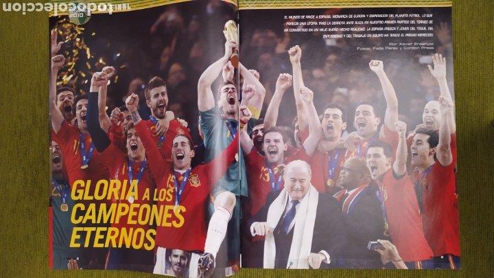 Coleccionismo deportivo: REVISTA ESPECIAL DON BALÓN N°1811. CAMPEONISIMOS ESPAÑA CAMPEONA DEL MUNDO 2010 - Foto 4 - 197784916