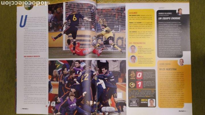 Coleccionismo deportivo: REVISTA ESPECIAL DON BALÓN N°1811. CAMPEONISIMOS ESPAÑA CAMPEONA DEL MUNDO 2010 - Foto 5 - 197784916