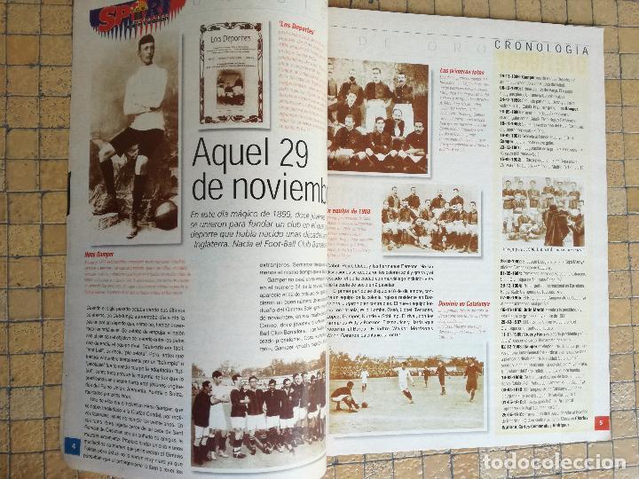 Coleccionismo deportivo: ESPECIAL REVISTA BARÇA SPORT 100 AÑOS DE ORO DEL FUTBOL CLUB BARCELONA - Foto 2 - 197852412