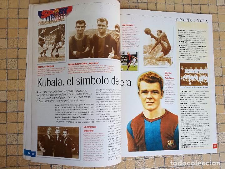 Coleccionismo deportivo: ESPECIAL REVISTA BARÇA SPORT 100 AÑOS DE ORO DEL FUTBOL CLUB BARCELONA - Foto 3 - 197852412