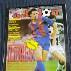 Collectionnisme sportif: REVISTA DON BALÓN 804. Lote 197885831