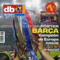 Coleccionismo deportivo: BARÇA CAMPEON DE EUROPA 2005-06 (EXTRA Nº 86). Lote 198593428