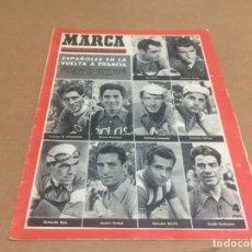 Coleccionismo deportivo: 6-7-1954 WORLD CUP FINAL: GERMANY - HUNGARY (3-2) / ESPECIAL EPAÑOLES VUELTA A FRANCIA. Lote 198844206