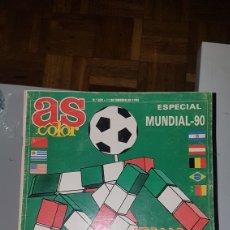 Coleccionismo deportivo: AS COLOR ESPECIAL MUNDIAL 90 CITA DE ASES. Lote 198930500