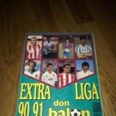 Coleccionismo deportivo: DON BALON(9-90)-EXTRA LIGA 90-91. Lote 220666756