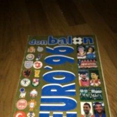 Coleccionismo deportivo: EXTRA DON BALON EURO 96 - REVISTA ESPECIAL GUIA FUTBOL GUIDE UEFA EUROCOPA ENGLAND 1996. Lote 198944017