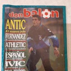 Coleccionismo deportivo: DON BALON NUMERO 806. ABRIL 1991.. Lote 198947937