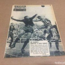 Coleccionismo deportivo: 30-12-1963 LIGA: ESPAÑOL - BARCELONA / BADALONA - ALAVES / COPA FERIAS: VALENCIA CAMPEON / LEVANTE 1. Lote 198976031