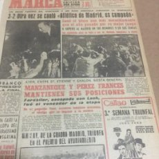 Collectionnisme sportif: 3-7-1961 FINAL COPA: ATLETICO MADRID 3 - REAL MADRID 2. Lote 198976925