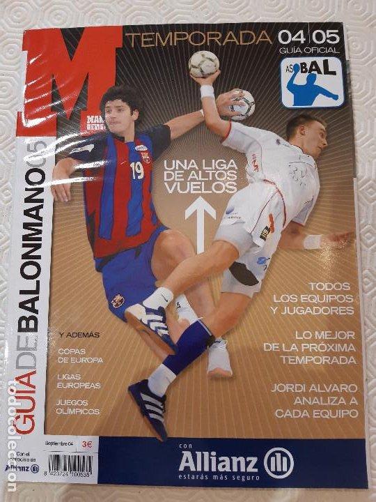 MARCA. GUIA DE BALONMANO 05. SEPTIEMBRE 04. (Coleccionismo Deportivo - Revistas y Periódicos - Marca)