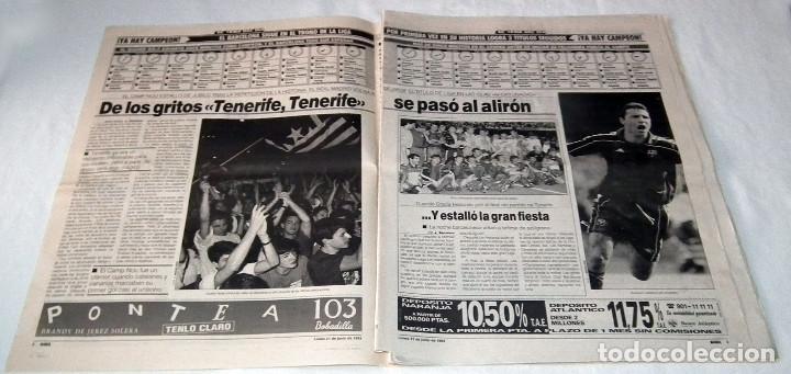Coleccionismo deportivo: DIARIO MARCA - F.C. BARCELONA CAMPEÓN DE LIGA 92-93 - Foto 2 - 34162234