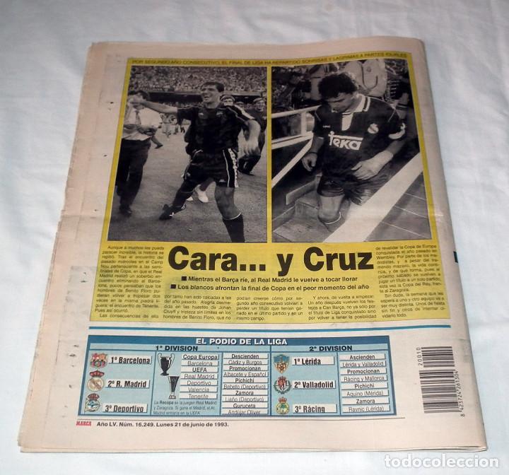 Coleccionismo deportivo: DIARIO MARCA - F.C. BARCELONA CAMPEÓN DE LIGA 92-93 - Foto 4 - 34162234