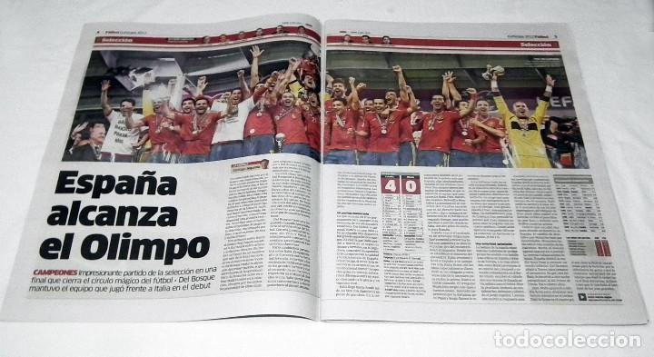 Coleccionismo deportivo: DIARIO MARCA EUROCOPA 2012 - ESPAÑA Y NADIE MAS - SELECCION ESPAÑOLA LA ROJA - Foto 3 - 199088786